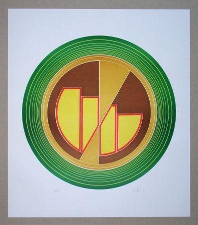 Linocut Geiler - Concrete-constructive Composition