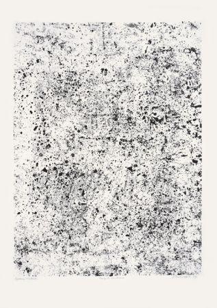 Lithograph Dubuffet - Congrès poudreux (Phénomènes)