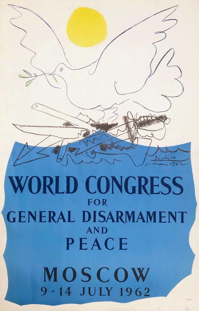 Lithograph Picasso - Congrès pour la Paix