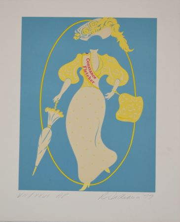 Lithograph Indiana - Constance Fletcher - Mother of us all portfolio