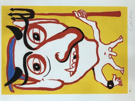 Etching And Aquatint Calder - Constantin Tacou