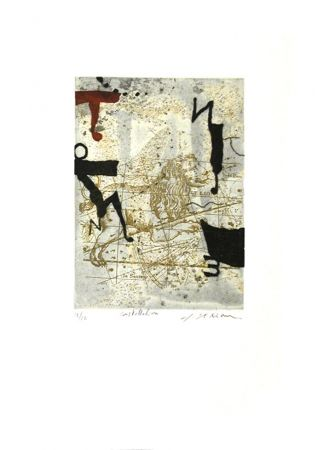 Etching And Aquatint Texier - Constellation