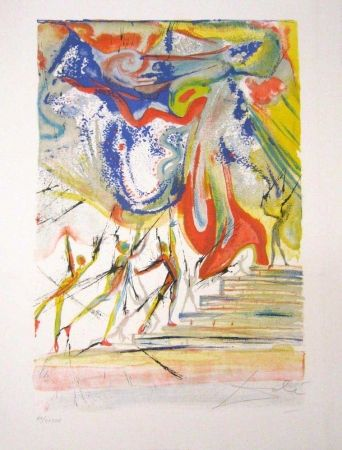 Lithograph Dali - Contes d'Andersen - The Red Shoes