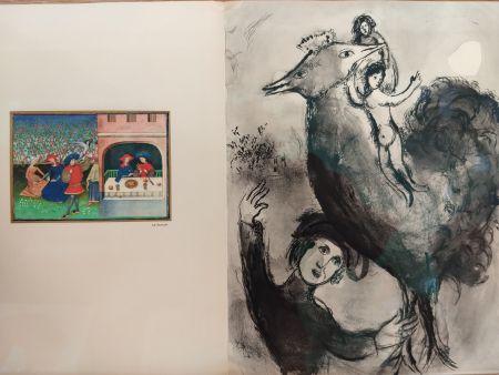 Illustrated Book Chagall - Contes de Boccage