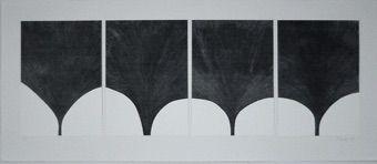 Screenprint Lucien - Contrepoint en gris