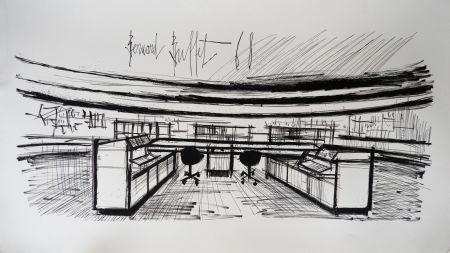 Lithograph Buffet - Control Room, Siemens,