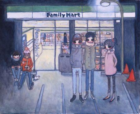 Lithograph Takano - Convenience Store