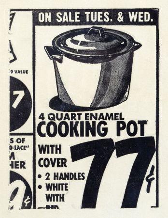 Engraving Warhol - Cooking Pot 1