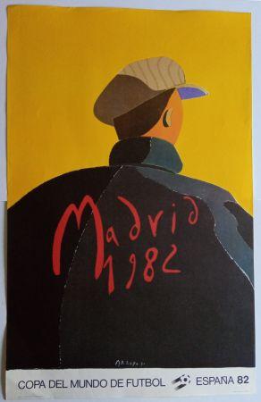 Poster Arroyo - Copa del Mundo 1982 - Madrid