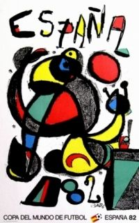 Poster Miró - Copa del mundo 82