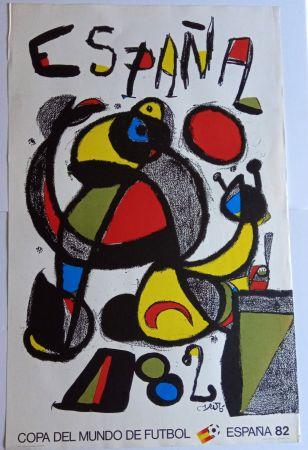 Poster Miró - Copa del Mundo España 82