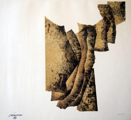 Lithograph Chillida - CORRELACION