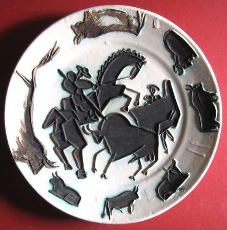 Ceramic Picasso - Corrida