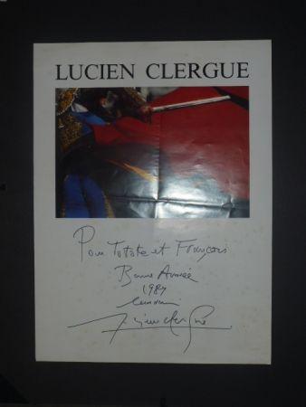 Poster Clergue - Corrida