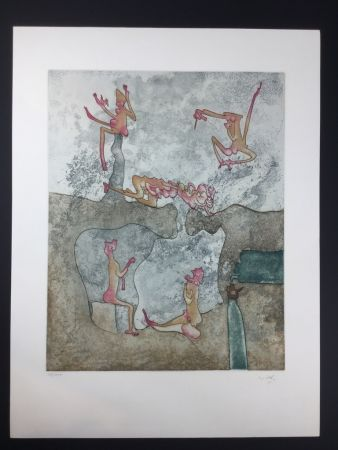 Etching And Aquatint Matta - COSÌ FAN TUTTE