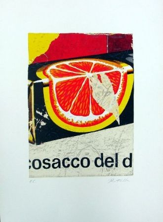 Lithograph Rotella - Cosacco del Don