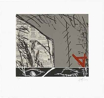 Etching And Aquatint Tàpies - Cosit