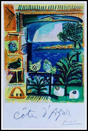 Lithograph Picasso - COTE D'AZUR