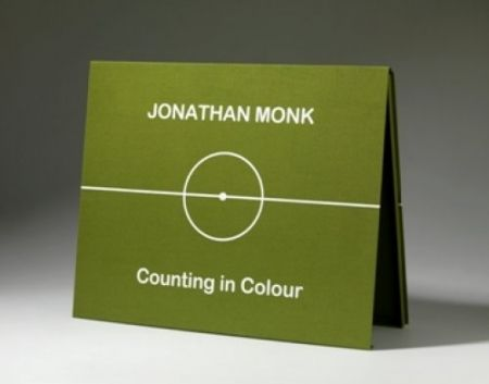 Lithograph Monk - COUNTING IN COLOUR