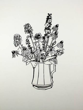 Screenprint Wesselmann - Country Bouquet for Tammy