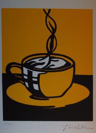 Screenprint Lichtenstein - Coup Of Coffee