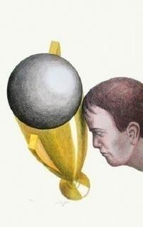 Lithograph Topor - Coupe Du Monde 82