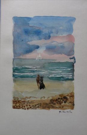 No Technical Grau Sala - Couple face à la mer