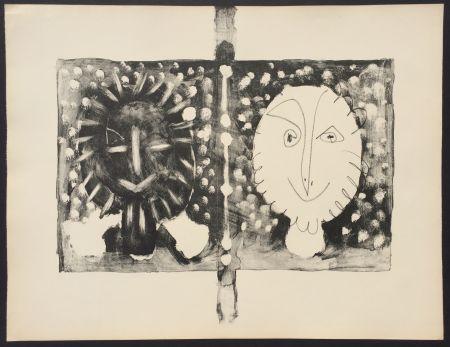 Lithograph Picasso - Couverture Mourlot I (B. 591)