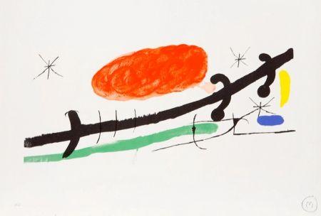 Lithograph Miró - Cover for Exhibition Catalogue at Sala Pelaires, Palma de Majorca, 1970