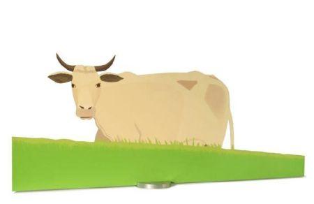 Screenprint Katz - Cow