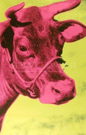 Screenprint Warhol - Cow (Fs Ii.11)