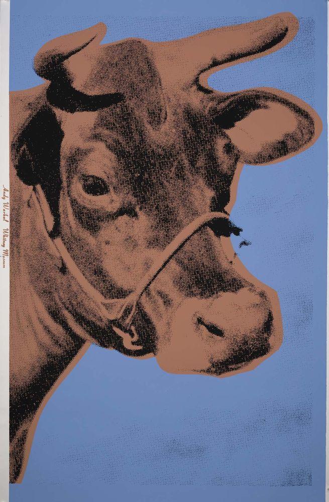 Screenprint Warhol - Cow (FS II.11A)