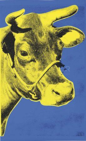 Screenprint Warhol - Cow (Fs Ii.12)