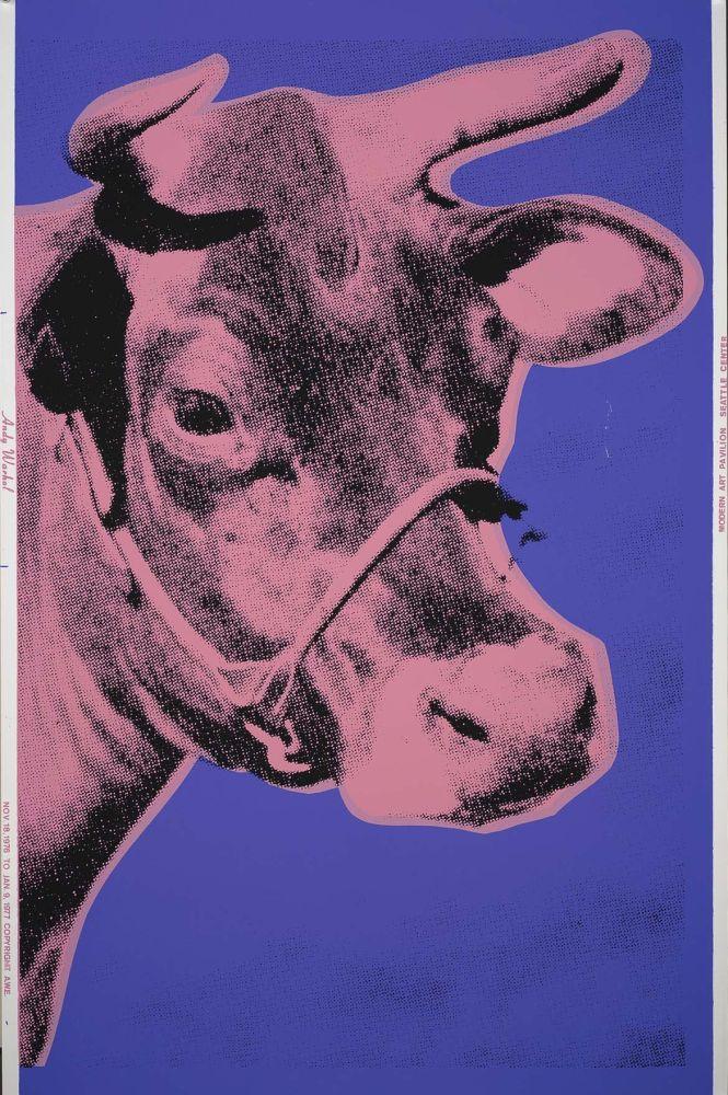 Screenprint Warhol - Cow (FS II.12A)