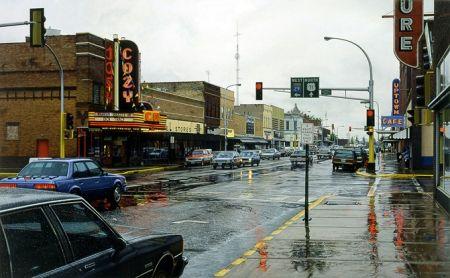 Screenprint Cone - Cozy/Rainy Day
