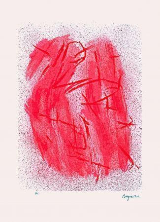 Lithograph Bazaine - Crépitement
