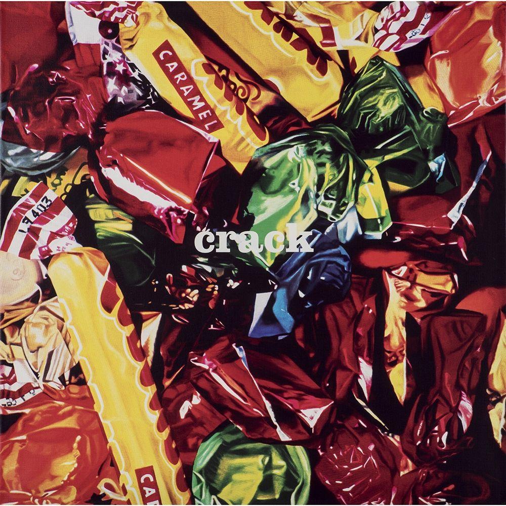 Screenprint Huart - Crack