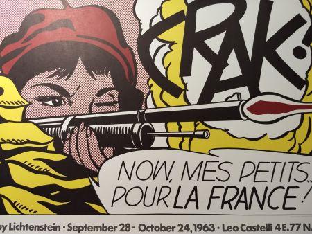 Poster Lichtenstein - Crak