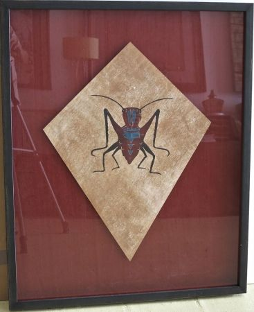 Screenprint Toledo - Cricket kite I