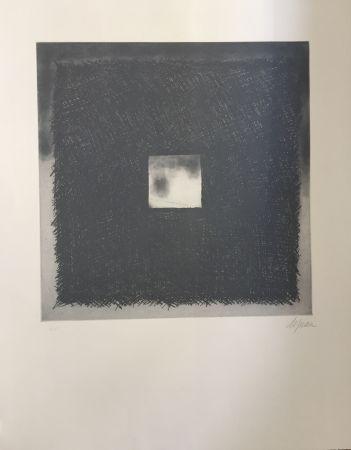 Etching And Aquatint De Juan - Cuadrado gris