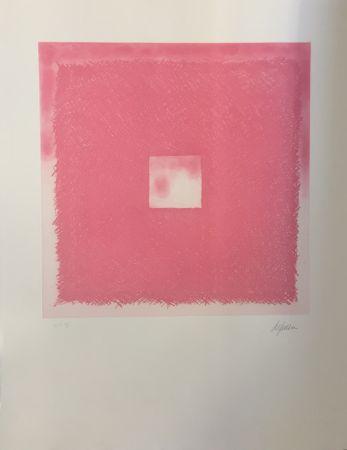 Etching And Aquatint De Juan - Cuadrado rosa