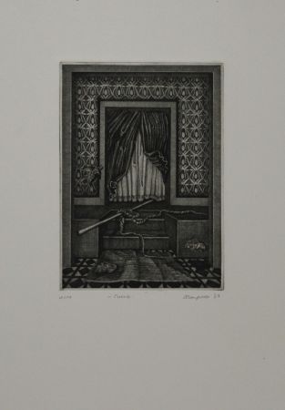 Etching And Aquatint Schoenfelder - Cuarto