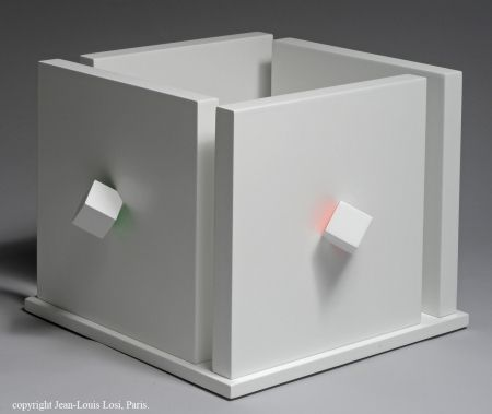 Multiple Tomasello - Cube atmosphére chromoplastique