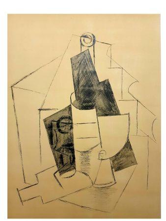 Lithograph Picasso (After) - Cubisme