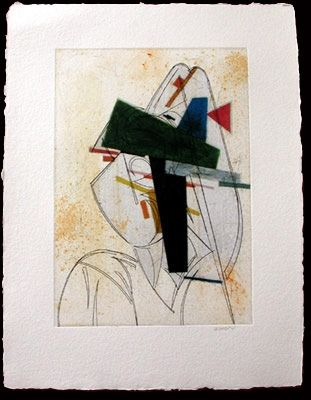 Engraving Valdés - Cubismo como pretexto 11