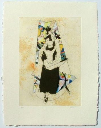 Engraving Valdés - Cubismo como pretexto 7