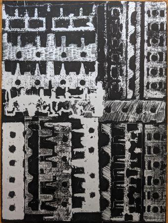 Lithograph Arman - Culasses sciées
