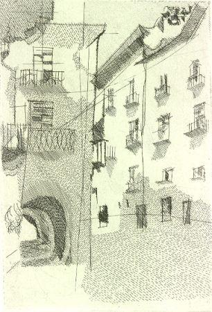Illustrated Book Franco - Cuneo. Dieci incisioni