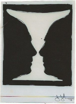 Lithograph Johns - Cup two Picasso