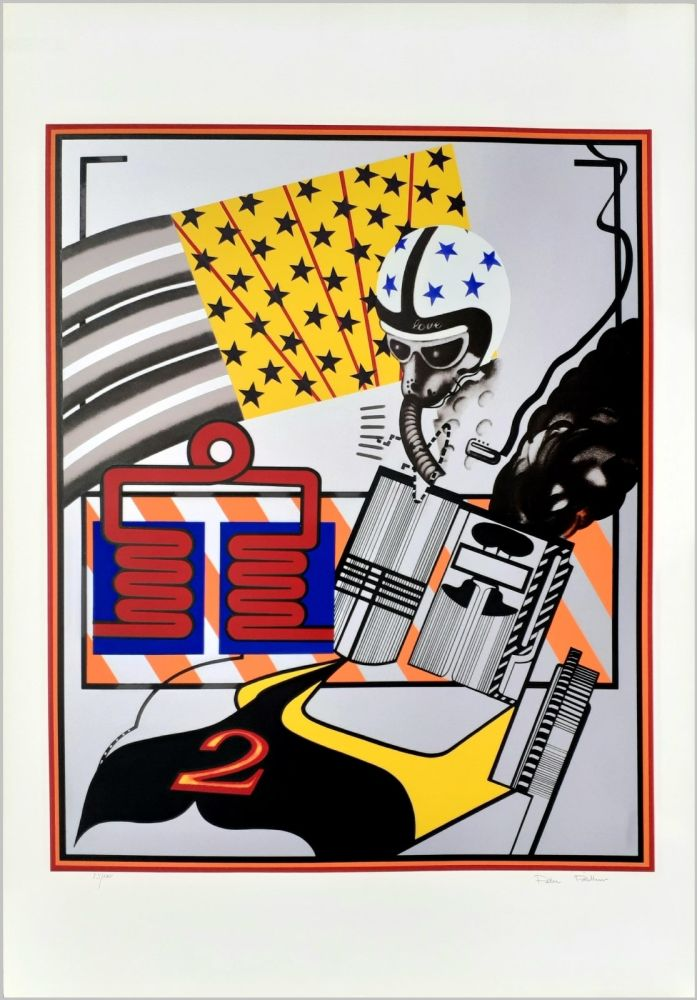 Screenprint Phillips - Custom painting no.6